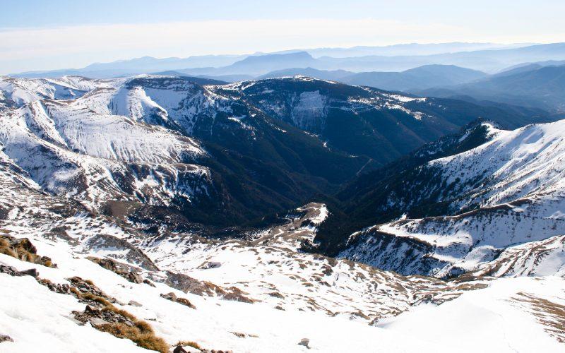 Macizo de Bisaurín en los Pirineos
