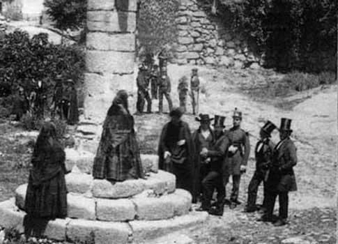 Picota de Jarandilla de la Vera foto antigua