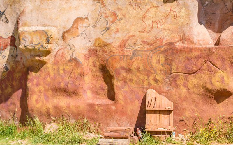 Pinturas en Atapuerca