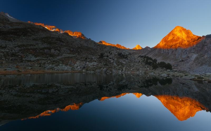 Impresionante paisaje en los Pirineos