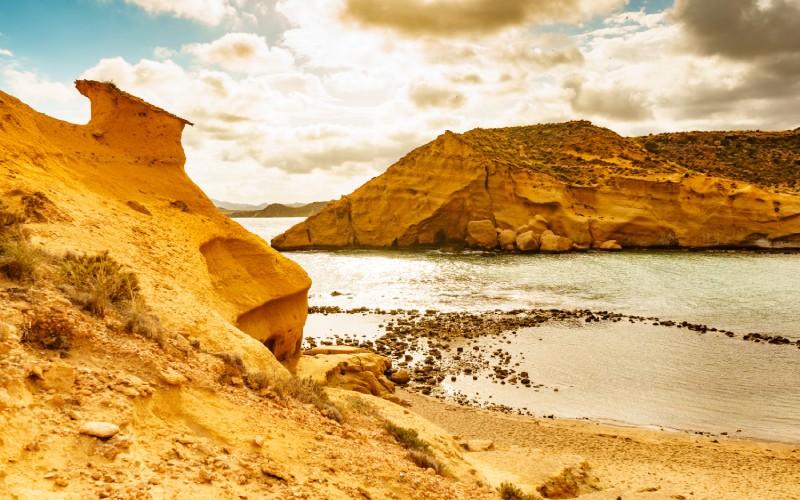 Playa de los Cocedores de Pulpí