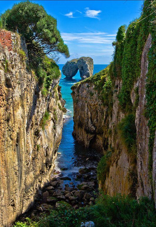 Playas secretas de Asturias Playa de la Canalina
