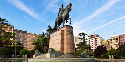 Plaza del Espolón en Logroño