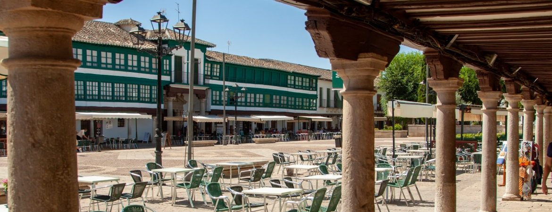 Vista general de la plaza de Almagro