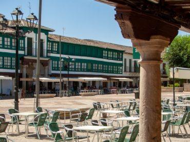 Plaza Mayor de Almagro, un conjunto maravilloso del siglo XVI