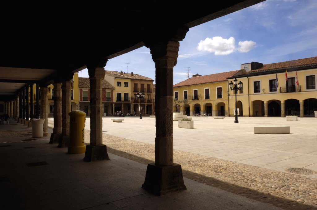 Plaza mayor de Villalpando