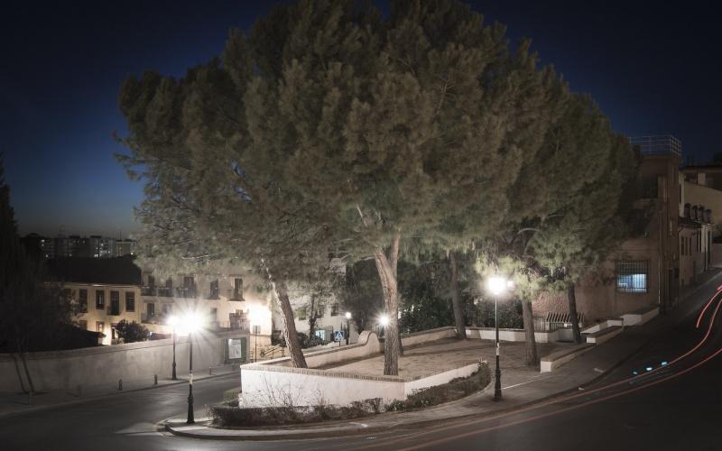 Plaza Joe Strummer en Granada