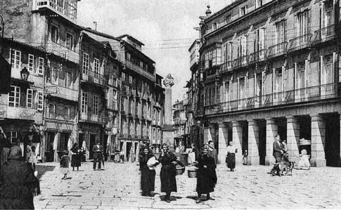 antigua fotografia santiago compostela
