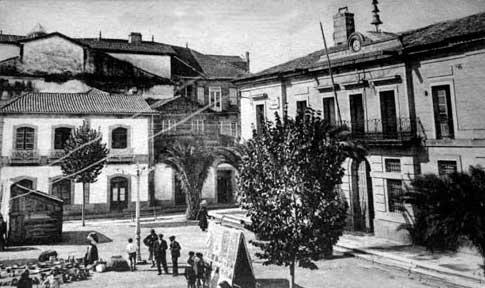 plaza inmaculada foto antigua