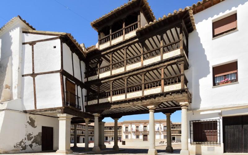 Plaza Mayor, Tembleque