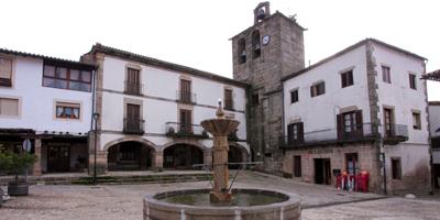 Plaza Mayor se San Martín de Trevejo
