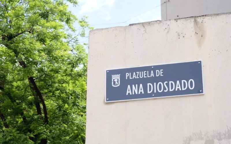 Plazuela de Ana Diosdado, en el madrileño barrio de Lavapiés