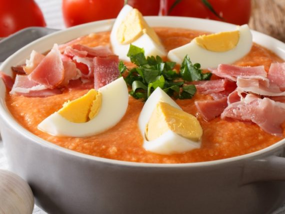 Receta de porra antequerana, la sopa fría malagueña