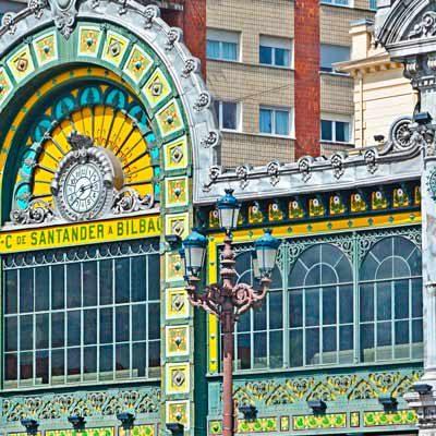 Las estaciones de Bilbao con más arte
