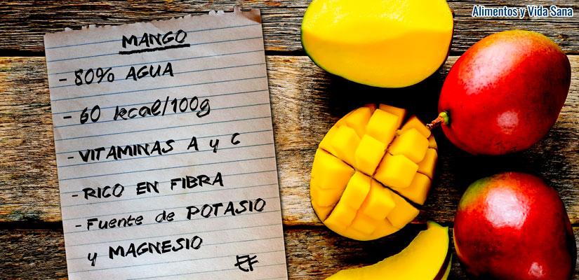 Propiedades curativas del mango