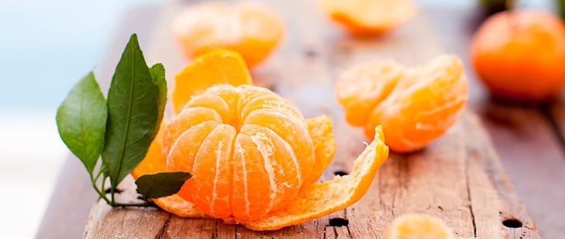 beneficios mandarina