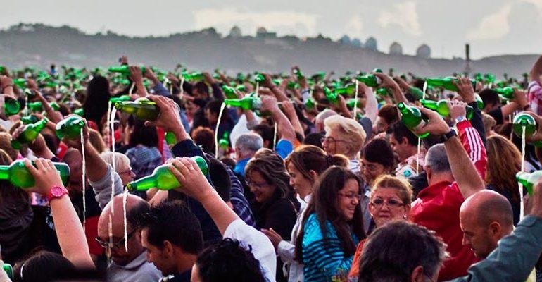 Fiesta de la Sidra Natural en Gijón