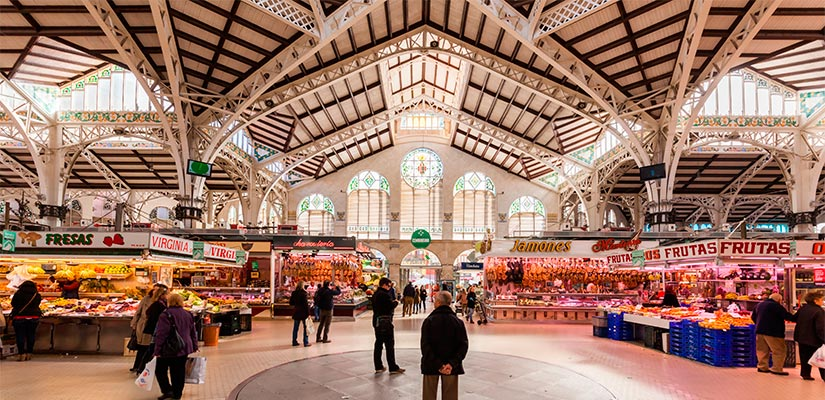 mercados valencia espana fascinante