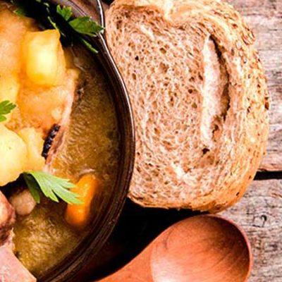 Cuatro platos de cuchara para el otoño
