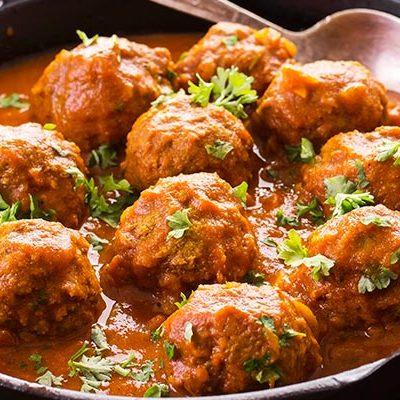 Spanish Meatballs with Sauce Recipe