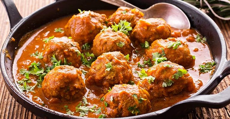 Spanish Meatballs with Sauce Recipe