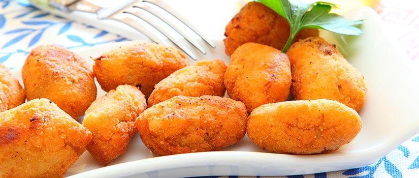 receta croquetas jamon