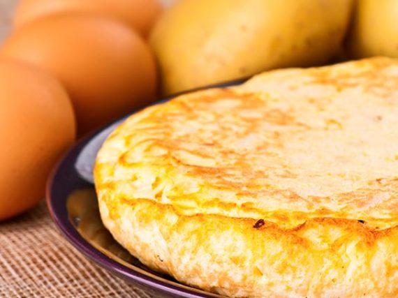 """Recette de la """"tortilla de patatas"""""""