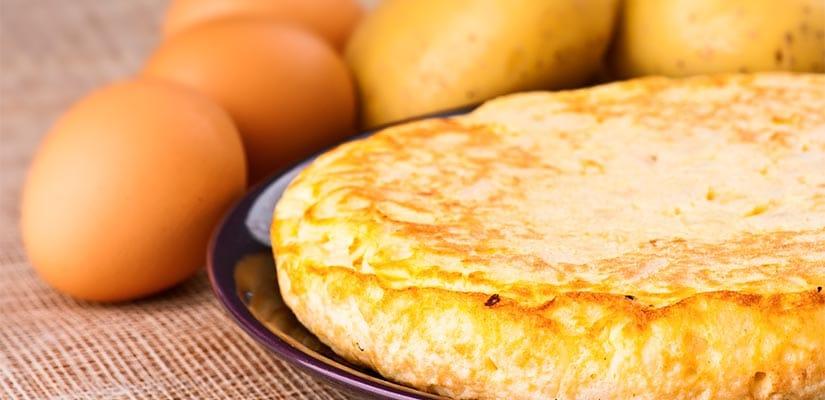 receta tortilla patata