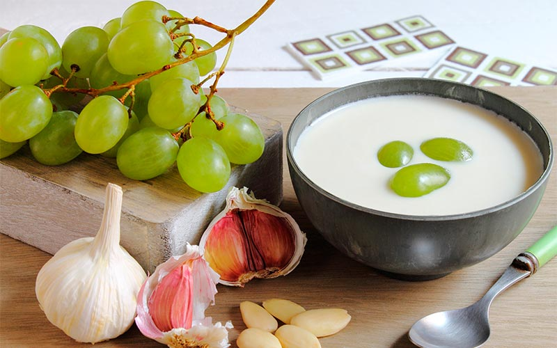 receta ajo blanco