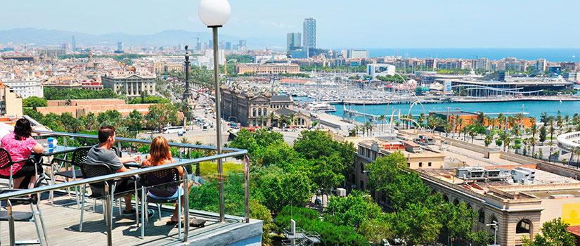 terrazas barcelona espana fascinante