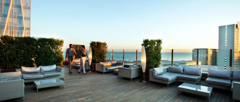 Mejores terrazas de hoteles en barcelona Hoteles en barcelona ciudad