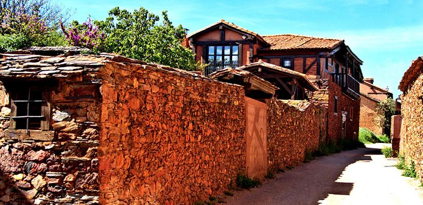 pueblos rojos espana fascinante