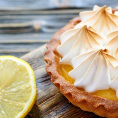 Receta de tarta de limón y merengue