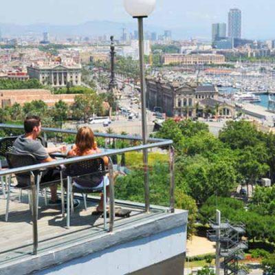 Las mejores terrazas en Barcelona
