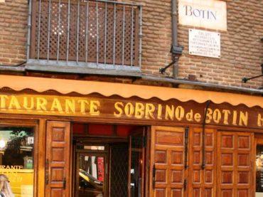 Restaurante Botín: El más antiguo del Mundo
