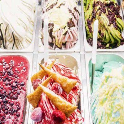 Sabores curiosos de helados