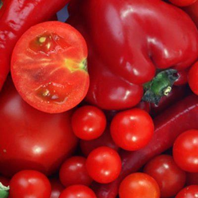 Alimentos de color rojo