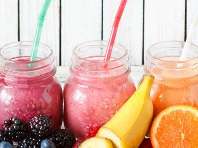 Batidos de frutas: salud en un sólo vaso