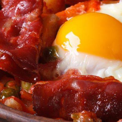 "Recipe for Flemish Eggs or Eggs ""a la Flamenca"""