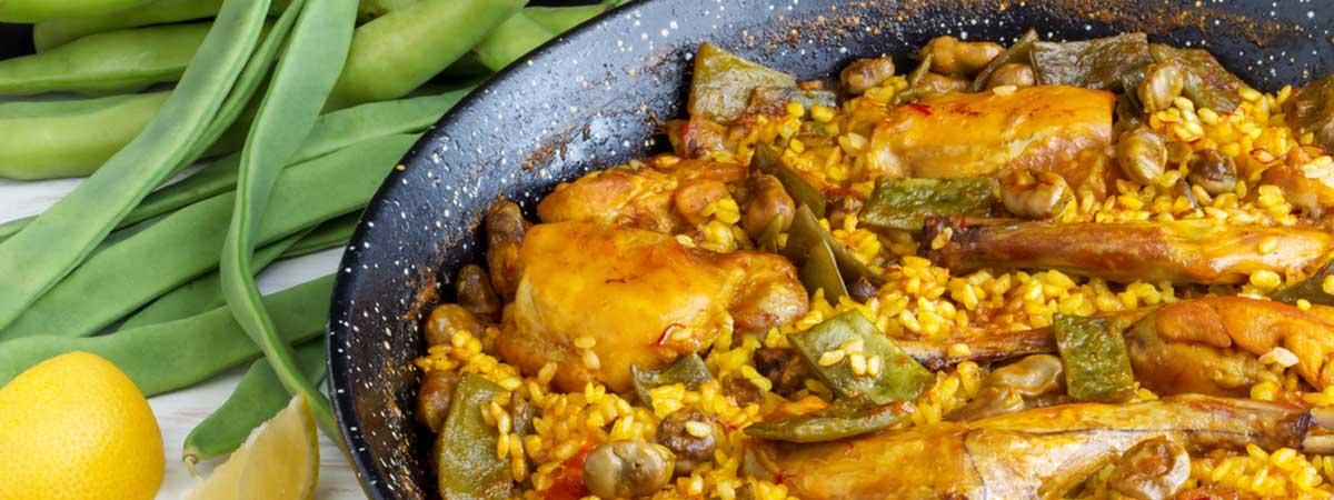 Receta de paella valenciana   Cocina Española   España Fascinante