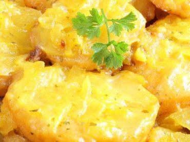 Receta de patatas a la importancia