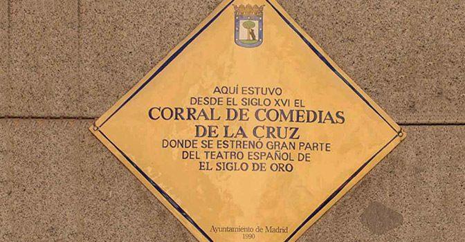 El Teatro de la Cruz, el mas castizo de Madrid