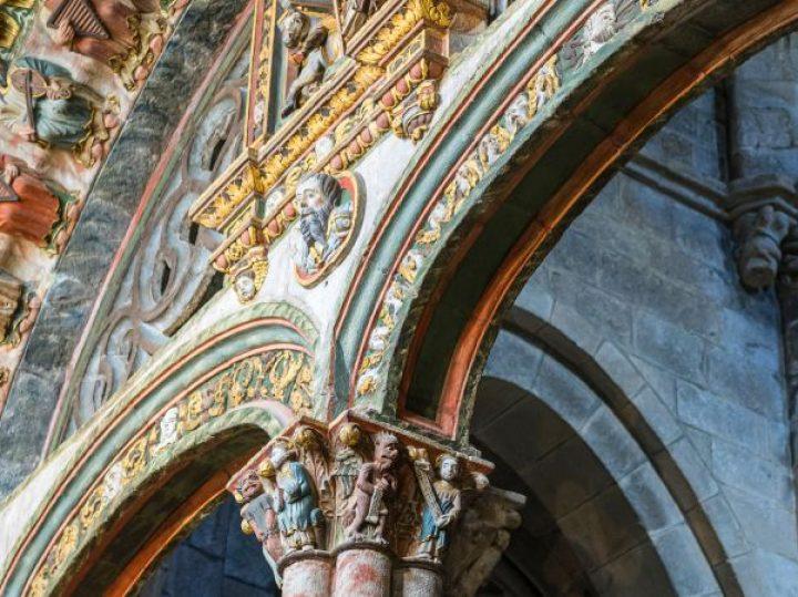 El Pórtico del Paraíso, la entrada de colores de la catedral de Ourense