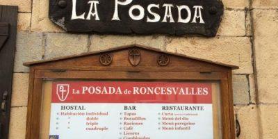 comer roncesvalles restaurante la posada