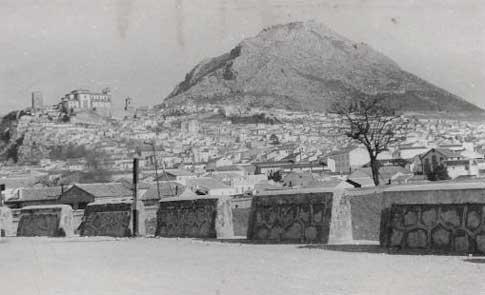 Antigua panorámica de Jaén