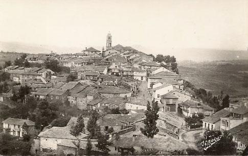 Fotografía antigua de Puebla de Sanabria