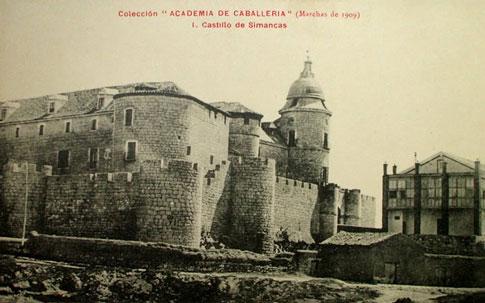 antigua fotografía Castillo de Simancas