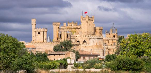 Palacio Real de los reyes de Navarra, una lujosa fantasía medieval en Olite