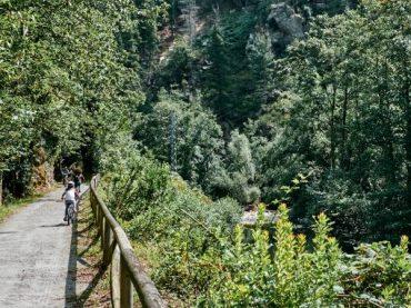 La senda del Oso, una emocionante travesía entre el verde asturiano