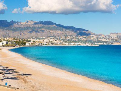 Playa del Albir en Alicante